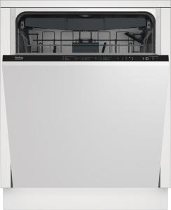 DIN28431 Geschirrspüler vollintegrierb. LC-Display42dB10Jahre Motorgarantie Besteckschublade EEK:D