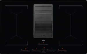 IDK84453IB Induktionskochfeld mit integriertem Dunstabzugnur UMLUFTHob²HoodBridge-Funktion
