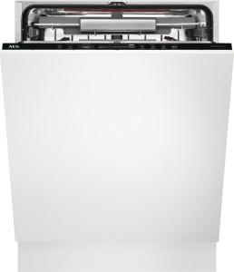 AEG FSE63807P Geschirrspüler vollintegrierbar ComfortLift LED-Display Besteckschublade 44dB