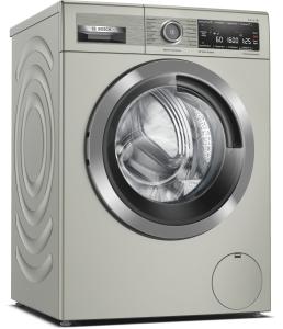 Bosch WAX32MX0 Waschmaschine, Frontlader, 10 kg, silber-inox, 1600 U/min., Home Connect