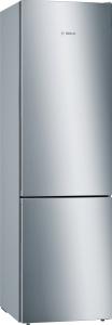 Bosch KGE39AICA Stand Kühl-Gefrier-Kombi 201 x 60 cm, AntifingerprintVitaFresh + LowFrost LED