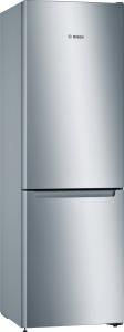 KGN33NLEB Freistehende Kühl-Gefrier-Kombination , NoFrost und FreshSense - Edelstahloptik