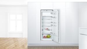 KIL52AFE0 Einbau Kühlschrank mit Gefrierfach 140 cm Nische Festtürtechnik VitaFreshPlus A++