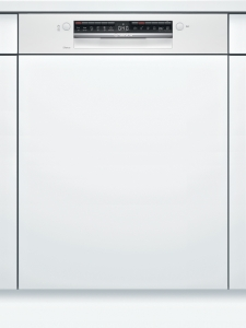 SMI4HTW31E Geschirrspüler integrierbar 60 cm weißHomeConnect 46/44dB EEK:E