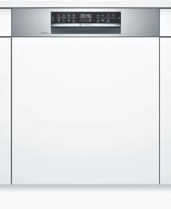 Bosch SMI6ZCS49E Geschirrspüler integrierbar 60 cm Edelstahl Zeolith HomeConnect 42/40dB EEK:C