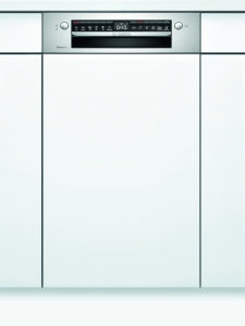 SPI4HMS61E Geschirrspüler integrierbar 45 cm Edelstahl HomeConnect Besteckschublade44dB