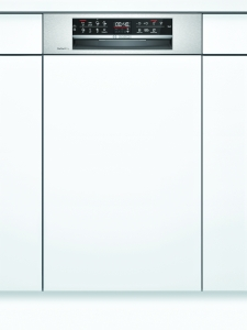 SPI6ZMS35E Geschirrspüler integrierbar 45 cm Edelstahl Zeolith EmotionLight HomeConnect EEK: A+++