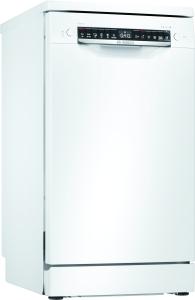 Bosch SPS4HKW53E Stand Geschirrspüler weiß 45 cm HomeConnect Startzeitvorwahl EEK: A+