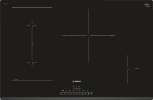 Bosch PVS831FC5E EXCLUSIV (MK) Kochfeld Induktion FacettendesignPerfectFry