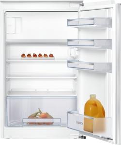KIL18NFF0 Einbau Kühlschrank mit Gefrierfach 88 cm Nische FlachscharnierLED