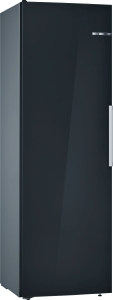 Bosch KSV36VBEP Stand Kühlschrank Schwarz VitaFreshFreshSenseLED