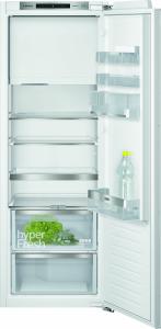 KI72LADE0 Einbau Kühlschrank mit Gefrierfach 158 cm Nische Flachscharnier hyperFreshPlus
