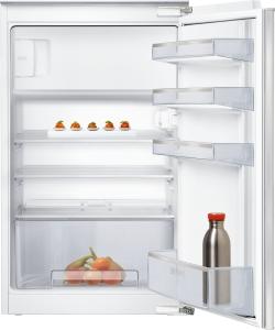 KI18LNFF0 Einbau Kühlschrank mit Gefrierfach 88 cm Nische FlachscharnierLED