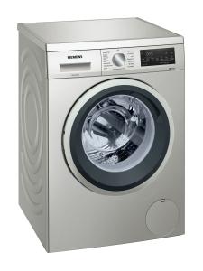Siemens WU14UTS0 Waschmaschine 9 kg silber LED-Display Nachlegefunktion1400 U/min