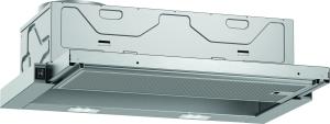 D46BR22X1 Flachschirmhaube 60 cm Aluftleistung 389m³/h autom.Ein/Ausschaltung A
