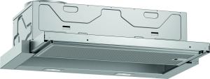 D46ED22X1 Flachschirmhaube 60 cm N50 Abluftleistung405m3/h LED 4 Stufen A
