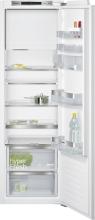 KI82LADF0 Einbau Kühlschrank mit Gefrierfach Flachscharnier freshSenseLED hyperFreshPlus