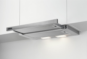 ZHP60350SA Flachschirmhaube 60 cmLED-Beleuchtung- Einbaumaße und Maßzeichnung unbedingt beachten