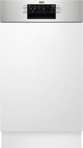 FEE62417ZM Geschirrspüler integrierbar 45 cmEdelstahlAirDryExtraHygiene 44/42dB