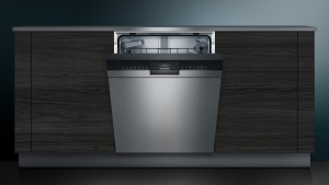 Siemens SN43HS41TE Unterbau-Geschirrspüler 60 cm, Edelstahl, Home Connect, varioSpeed Plus