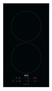 AEG IKB32300CB Autarkes KochfeldInduktion, 30 cm,Aufliegend,2 Kochzonen mit Kindersicherung