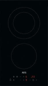 AEG HRB32310CB Autarkes Kochfeld Glaskeramik 30 cm- 2 Kochzonen mit Kindersicherung