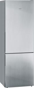 Siemens KG49EAICA Kühl-Gefrier-Komb. 201cm 70 breit lowFrost inox antifingerprint hyperFresh EEK:C