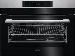AEG KEK748280M Einbau-Kompaktbackofen SoftClosing Touch-Bedienung, Grillfunktion