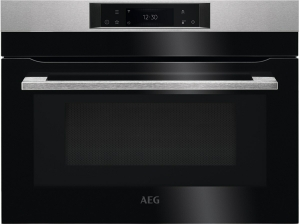 AEG AEG KMK765080M Einbau-Kompaktbackofen integrierte Mikrowelle - WiFi-Vernetzung - Touch-Bedienung