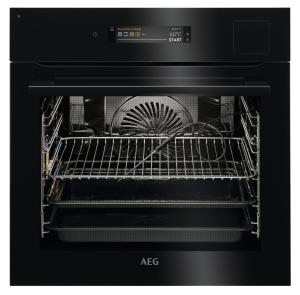 AEG BSK898230B Steam Pro Multi Dampfgarer schwarz mit Sous Vide und WiFi Professional Line