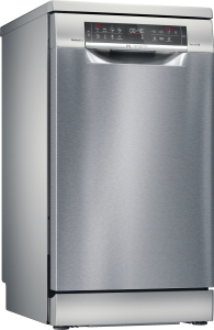 SPS6YMI17E Stand Geschirrspüler 45 cm emotionLight HomeConnect Zeolith VarioSchublade EfficientDry
