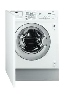 AEG L61470WDBI Waschtrockner vollintegrierbar EEK B 7/4kg 1400UpM Türanschlag wechselbar