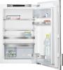 Siemens KF21RAF30mit weißer Türfront und Alu DekorrahmenEinbau-Kühlschrank ohne Gefrierfach 88cm