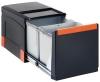 Franke Cube 41, 2 x 18 l , Handauszug 134.0055.270