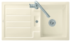 Villeroy & Boch 330502FU Flavia 50 Excenter ivory c+ inkl. Bohrung