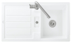 Villeroy & Boch 330502R1 Flavia 50 Excenter weiss c+ inkl. Bohrung