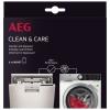 AEG A6WMDW06Clean & Care Kit für Waschmaschinen und Geschirrspüler.Inhalt: 6 Beutel