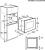 AEG MSB2547D-M Einbau-Mikrowelle 38cm Nischenhöhe für Hochschrank (NICHT für Hängeschränke) geeignet!