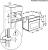 AEG KSK721210M Einbau-Dampfgarer 45cm hoch Kochassistent Dampfreinigung