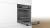 Bosch HBA533BB1 Backofen 60 cm LED-Display5 Heizarten Vulkan SchwarzEEK: A+