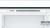 Bosch KIV77VSF0 Kühl-Gefrier-Kombi 158 cm Nische LEDSchleppscharnier