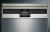 Siemens SR23HI48KE Stand Geschirrspüler 45 cmHomeConnectEdelstahl