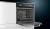 Siemens HB334A0S0 Backofen 60 cm Edelstahl7 HeizartenLED-DisplayElektronikuhr EcoClean Teleskopauszug