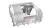 Bosch SHV4HCX48E Geschirrspüler vollintegrierbar XXLInfoLightvarioSchubladeFlexKörbe 44dB EEK:D