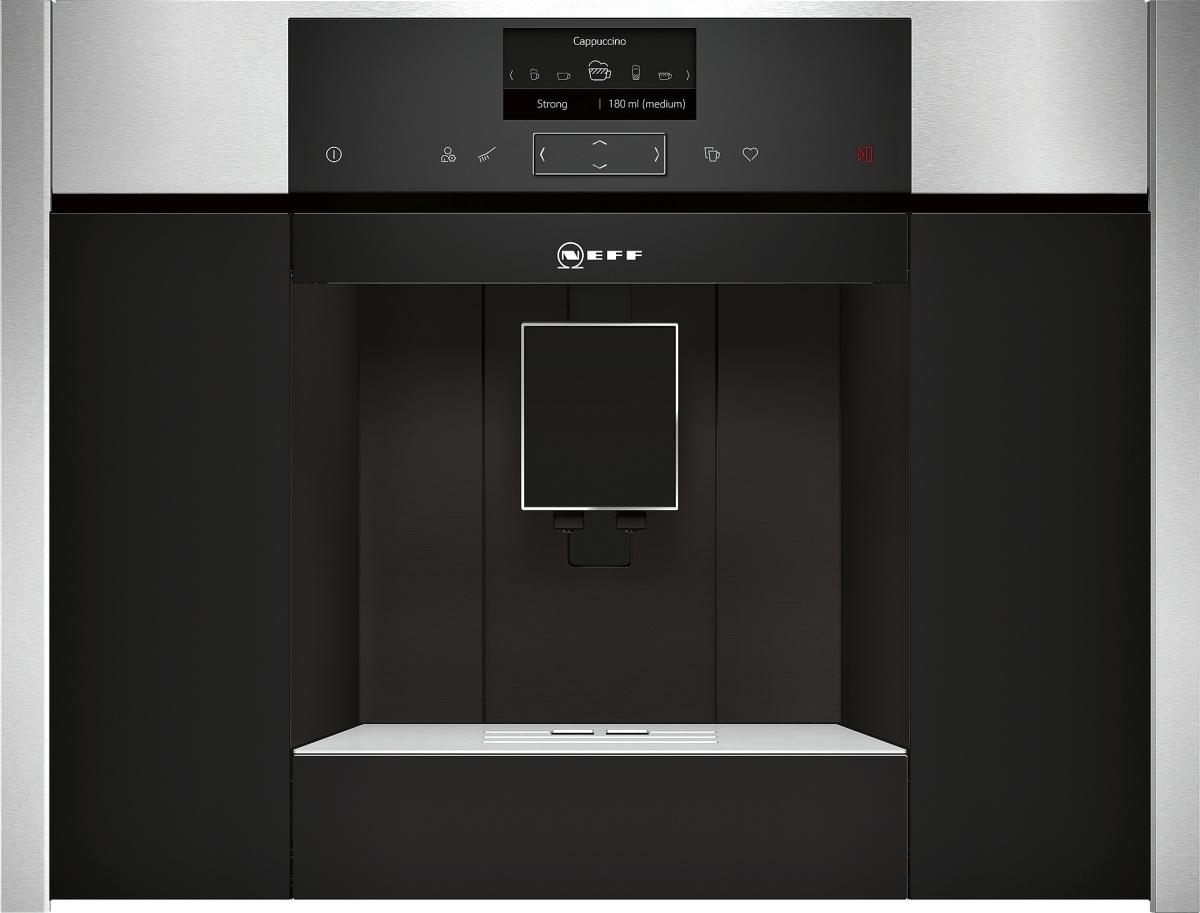 Neff CKS1561N ( C15KS61N0 ) Einbau-Kaffeevollautomat schwarz, Edelstahl