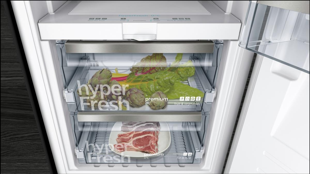 Aeg Kühlschrank Integrierbar 122 Cm : Siemens ki faf einbaukühlschrank cm nische hyperfresh o°c