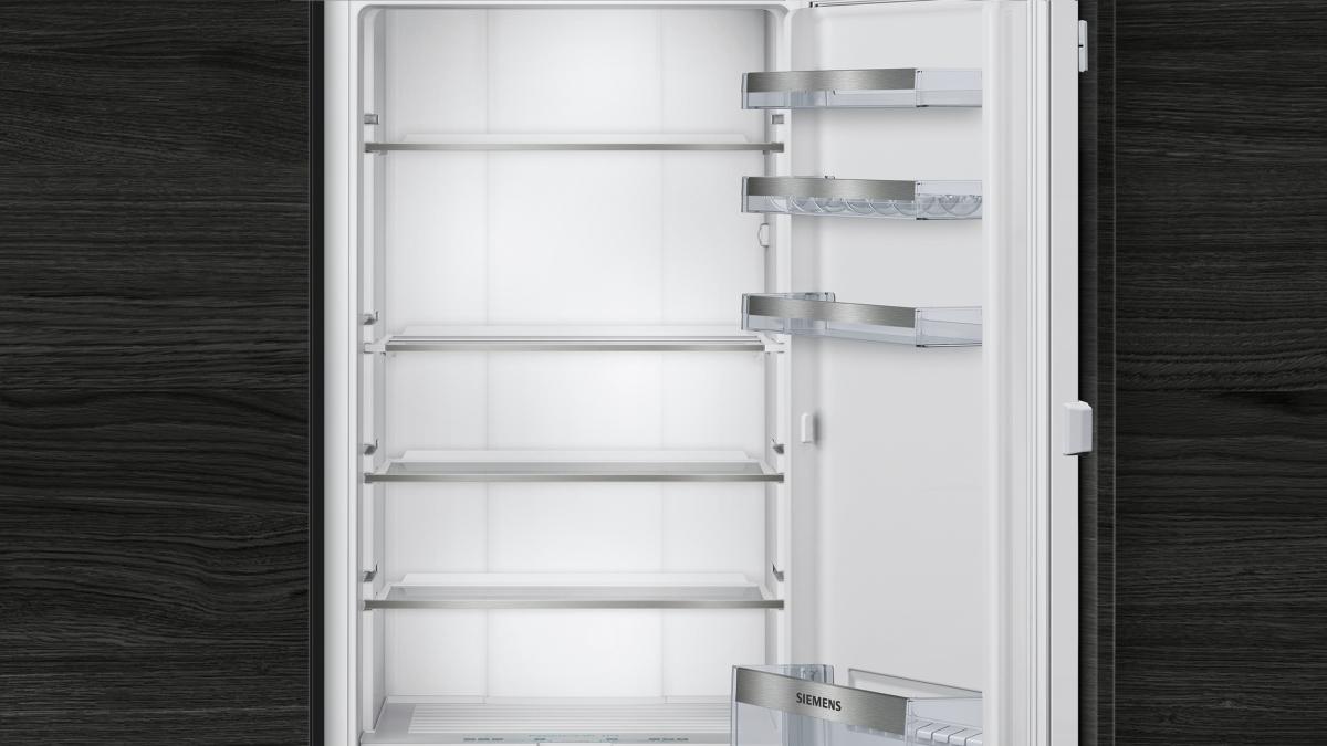 Kühlschrank Ohne Gefrierfach Siemens : Siemens ki51faf30 einbaukühlschrank 140cm nische hyperfresh o°c led