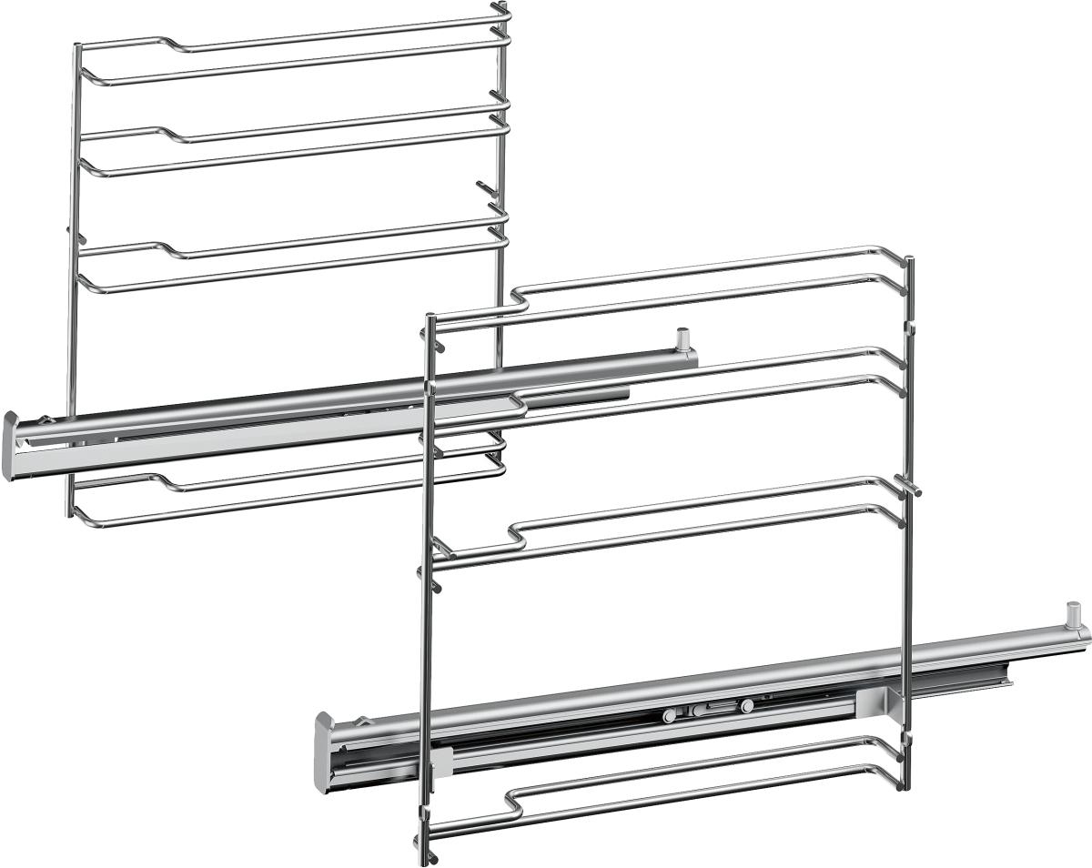Bosch HEZ638170Teleskop-Vollauszug 1-fach, pyrolysef.Herde/Backöfen-Zubehör