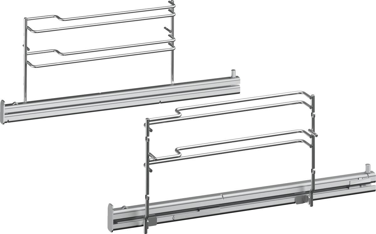 Bosch HEZ638D18Teleskop-Vollauszug 1fach, 45cm, dampfHerde/Backöfen-Zubehör