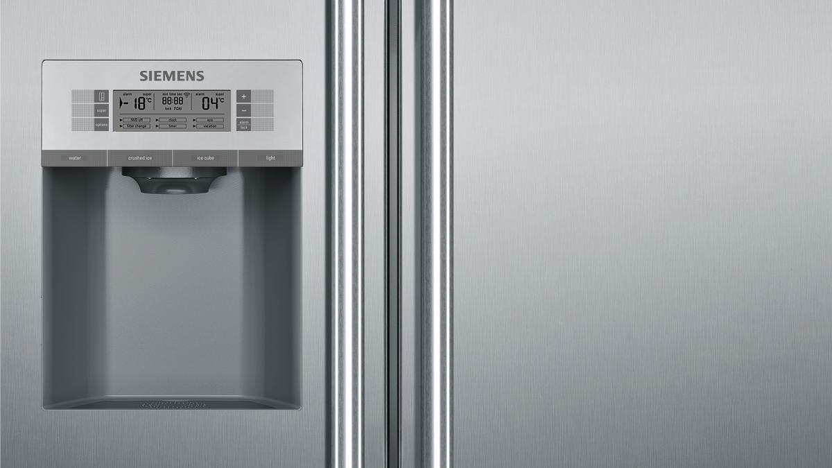 Siemens Kühlschrank Home Connect Einrichten : Siemens ka dhi set vib home connect kombination bestehend aus